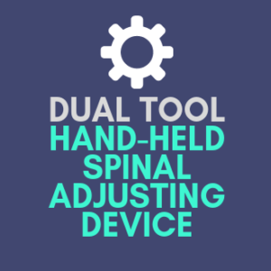 Dual Tool Hand-Held Spinal Adjusting Device